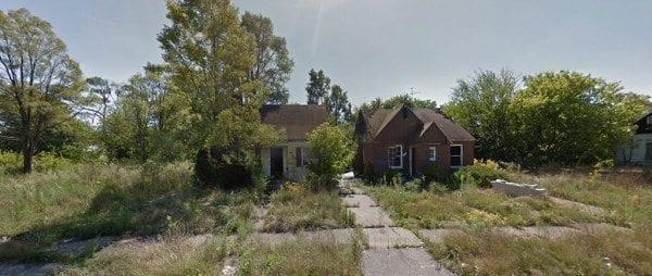 deserted nieghborhood