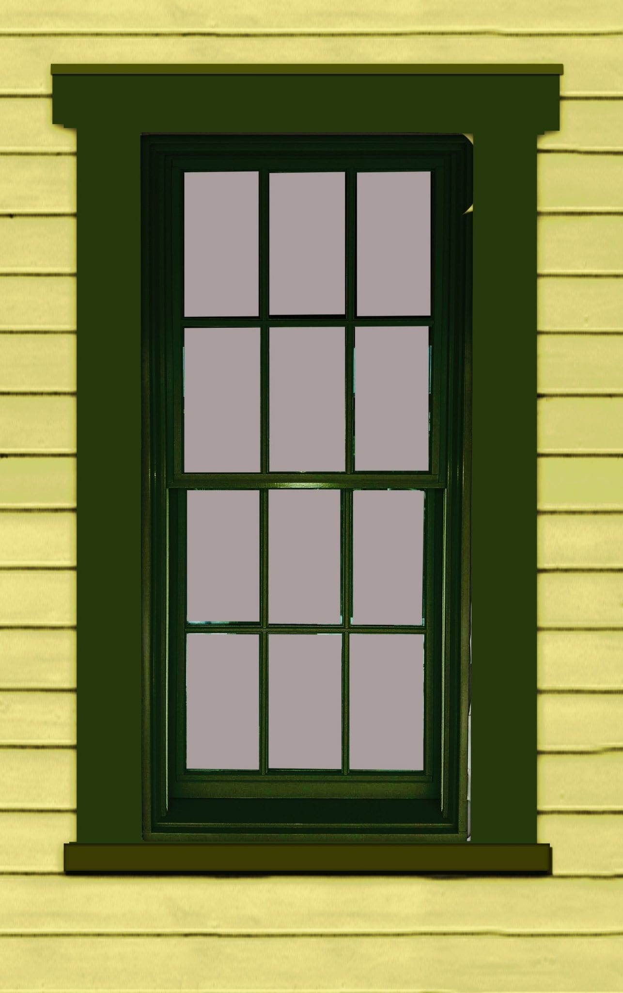 painting windows color placement mistakes green anderson 400 window