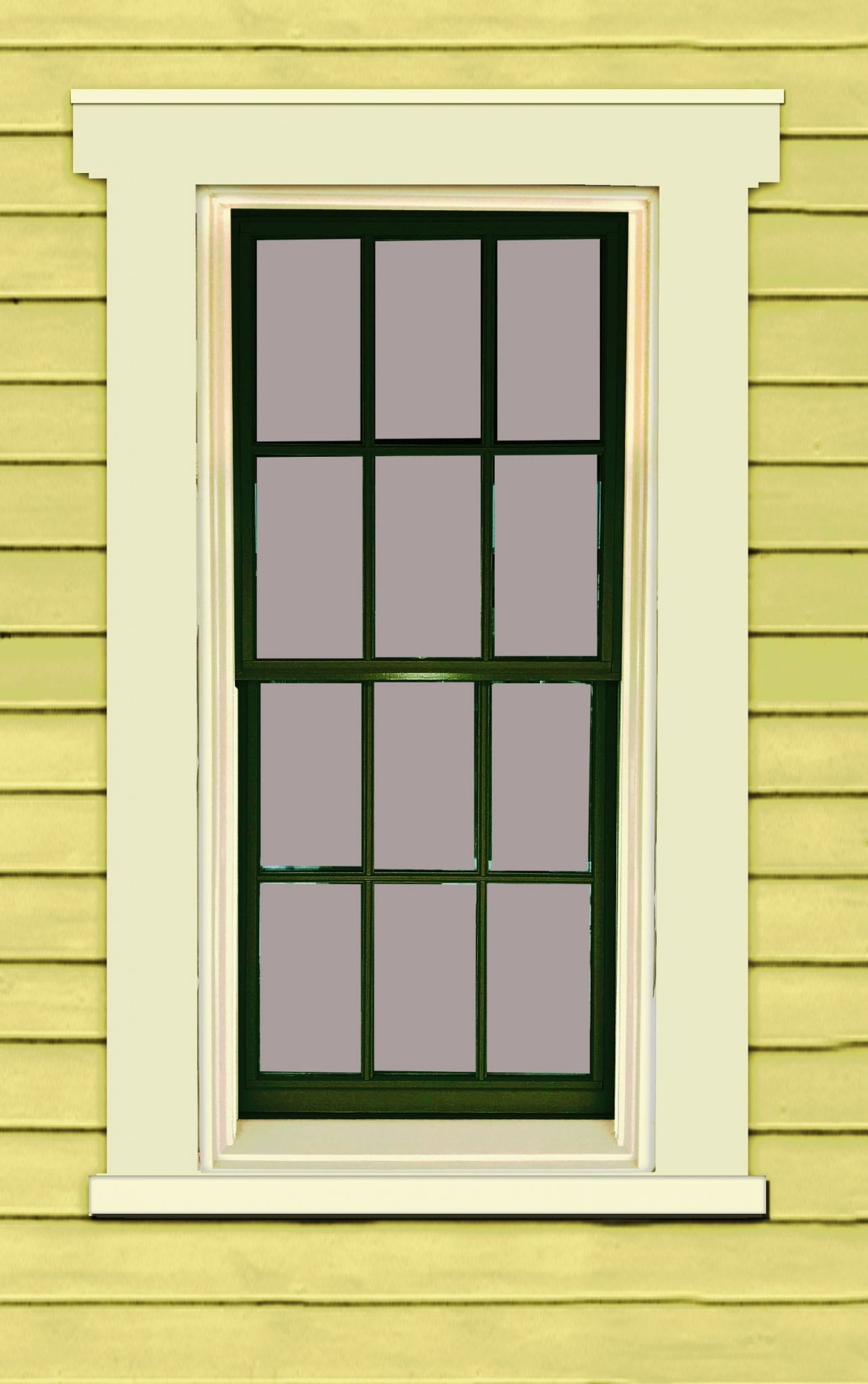 gallery glass window color instructions