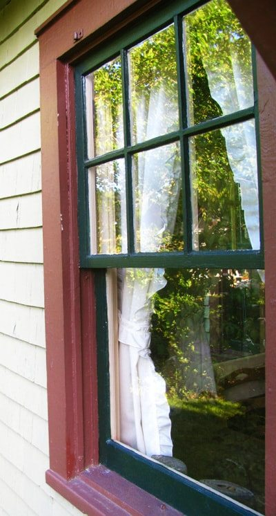 window sash painting