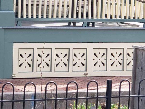 porch skirt panels