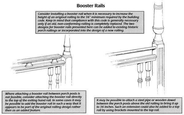 booster rail