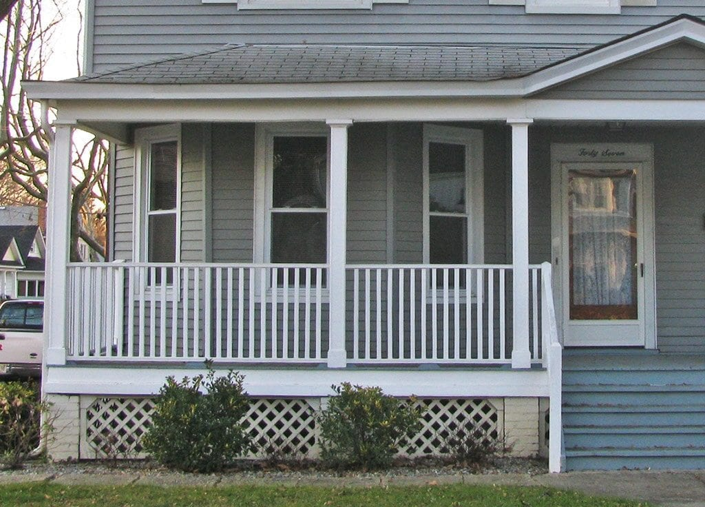 Front Idea Porch Railing