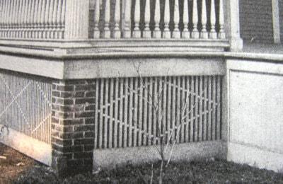 historic porch skirt