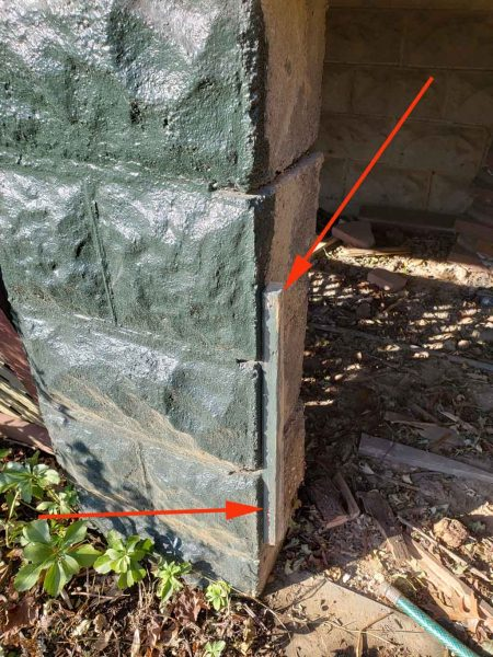 how to mount lattice to porch pier