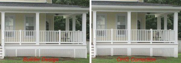 lattice under porch skirt