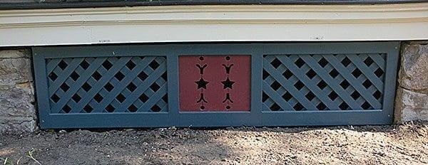 lattice porch skirt