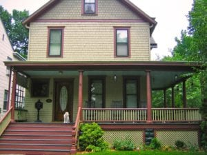 low porch railing designs