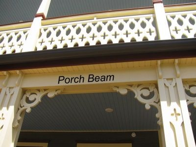 porch beam