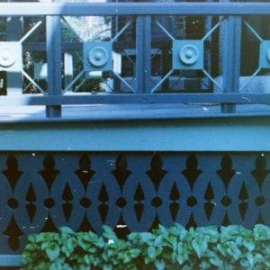 sawn baluster porch skirt