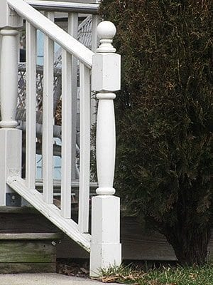porch newel post