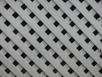 diagonal wood lattice