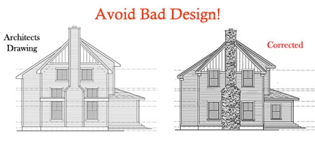 correcting architectural drawings elevations