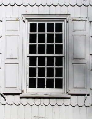 georgian window twelve over twelve