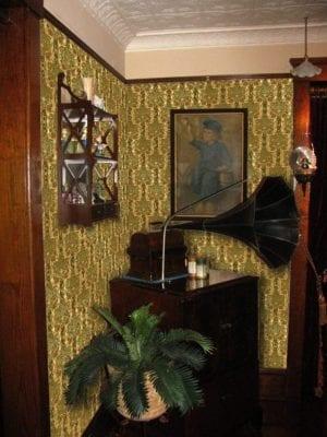 historic arts & crafts wallpaper