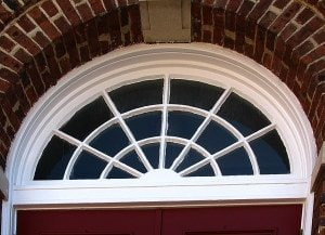 historic wood window tracery