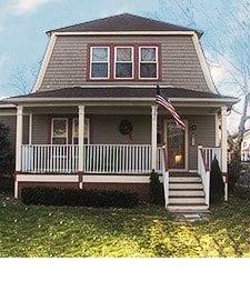 porch railing height