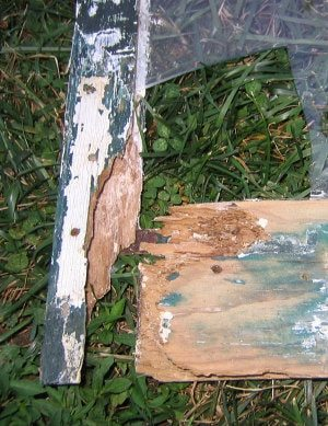 rotted wood storm window restoration and repair