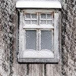 uninsulated window