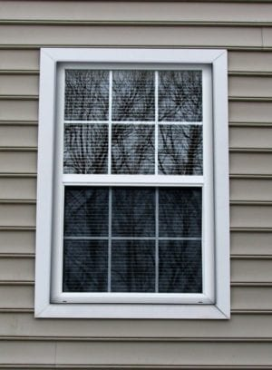 window sash modified