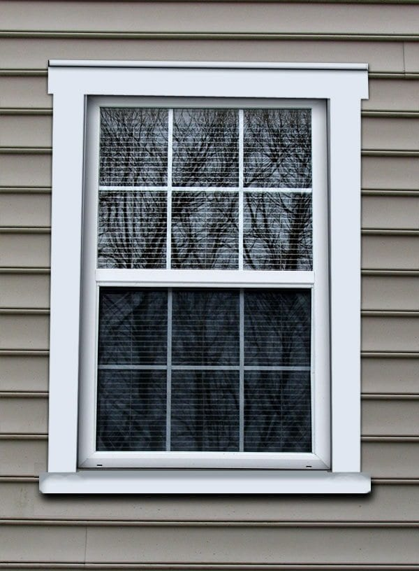 Exterior window trim colonial images for Colonial window designs