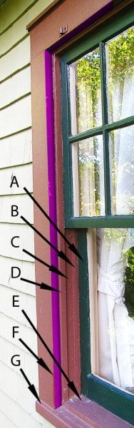 window designs diagram window jamb