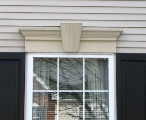 keystone window header casing styles