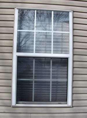 window style no casing