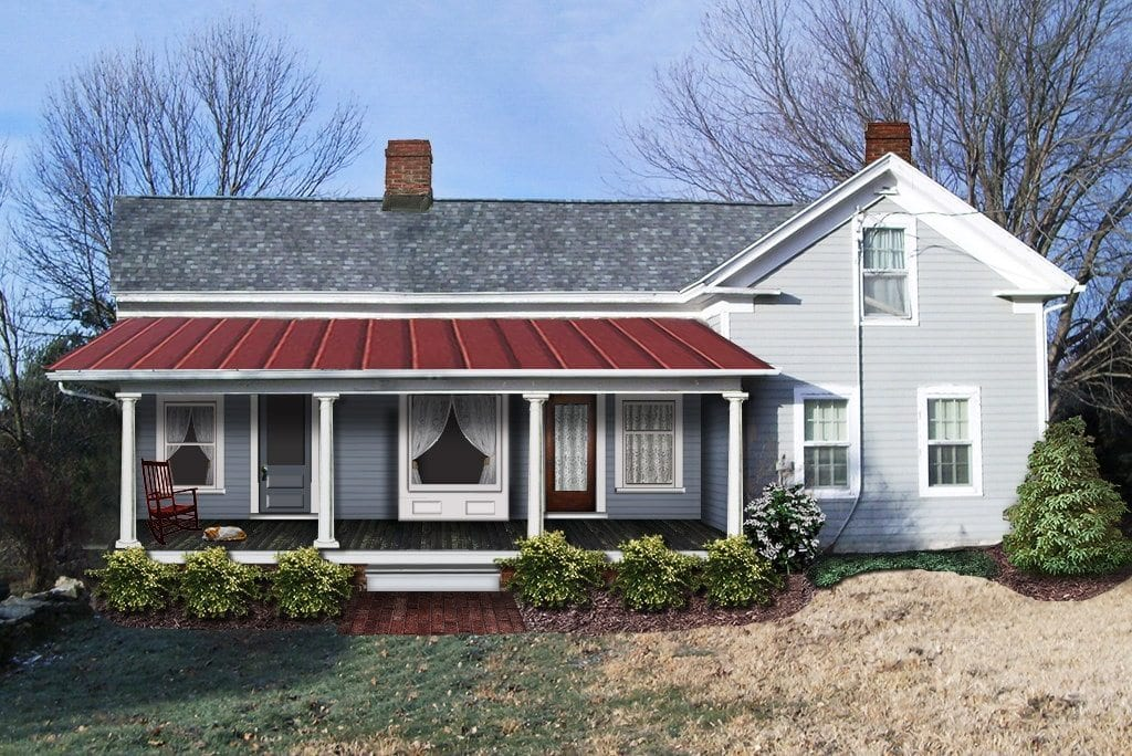 Historic farmhouse renovation and additions oldhouseguy blog for Farmhouse front porch pictures
