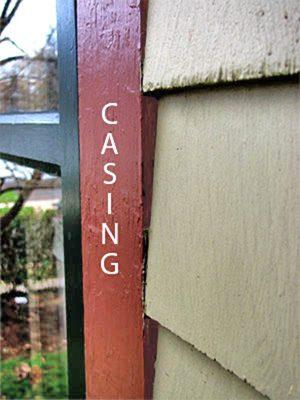 window casing shingles