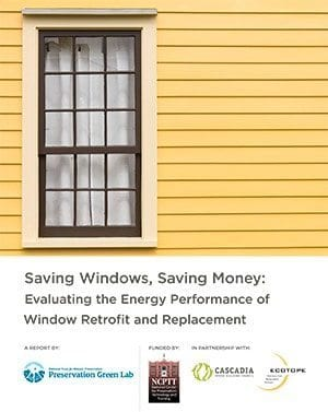 saving windows saving money