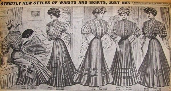 Shirtwaist - Sears catalog 1908