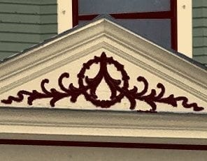 victorian house color accents