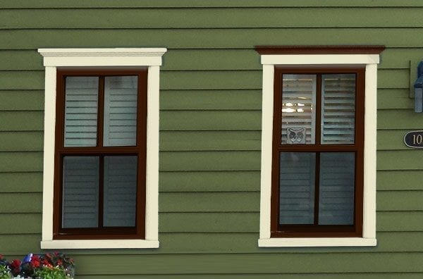 accenting victorian house colors for windows