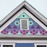 decorative fish scale shingles