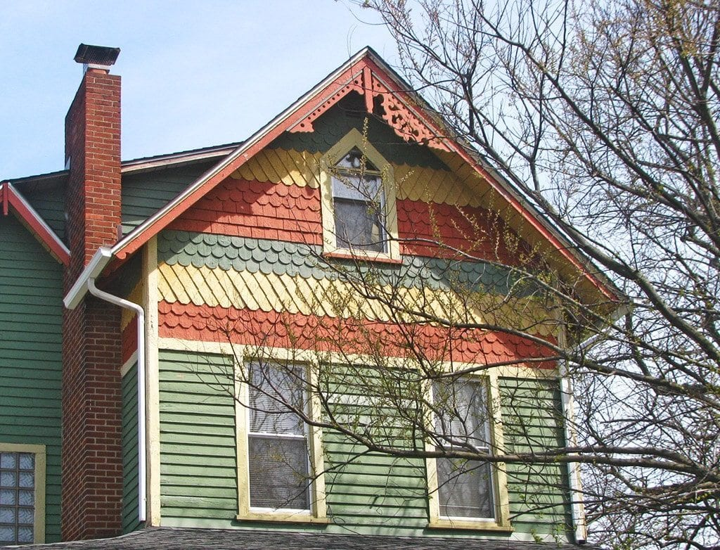 Mistakes using fancy cut decorative shingles oldhouseguy for Shingle style siding