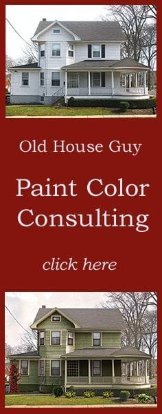 Old House Guy Services for Historic Paint Colors