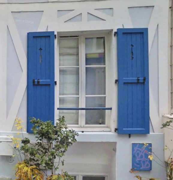 casement window shutters - paris