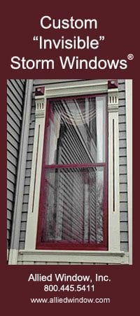 Invisible storm windows from Allied Windows