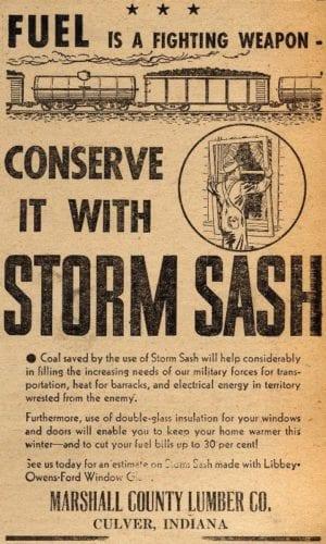 storm sash