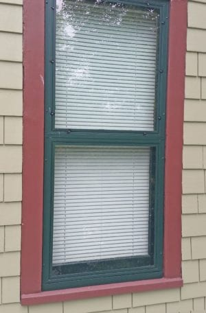 "Allied Windows ""Invisible"" single-track storm window."