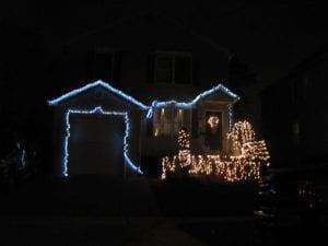 bad christmas LED lighting