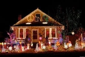 tacky christmas lighting