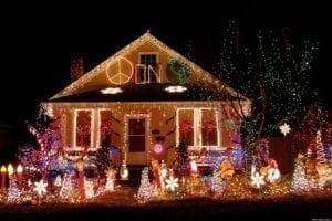 tacky christmas lighting