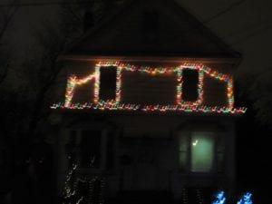 window christmas lighting