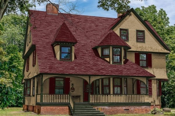 shingle style victorian painted