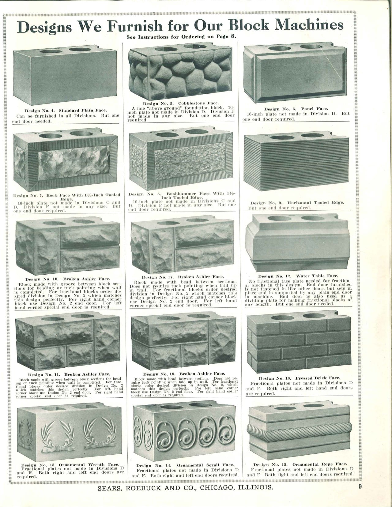 Decorative Concrete Block Designs