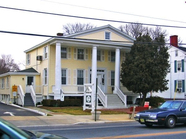 greek revival christopher house freehold nj