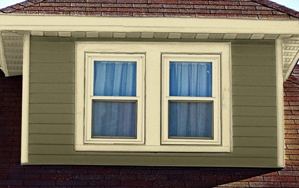 trim matches window sash