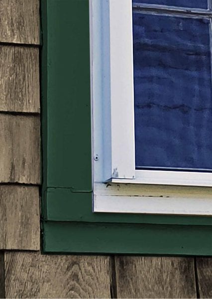 eastern window casing storm window mounting